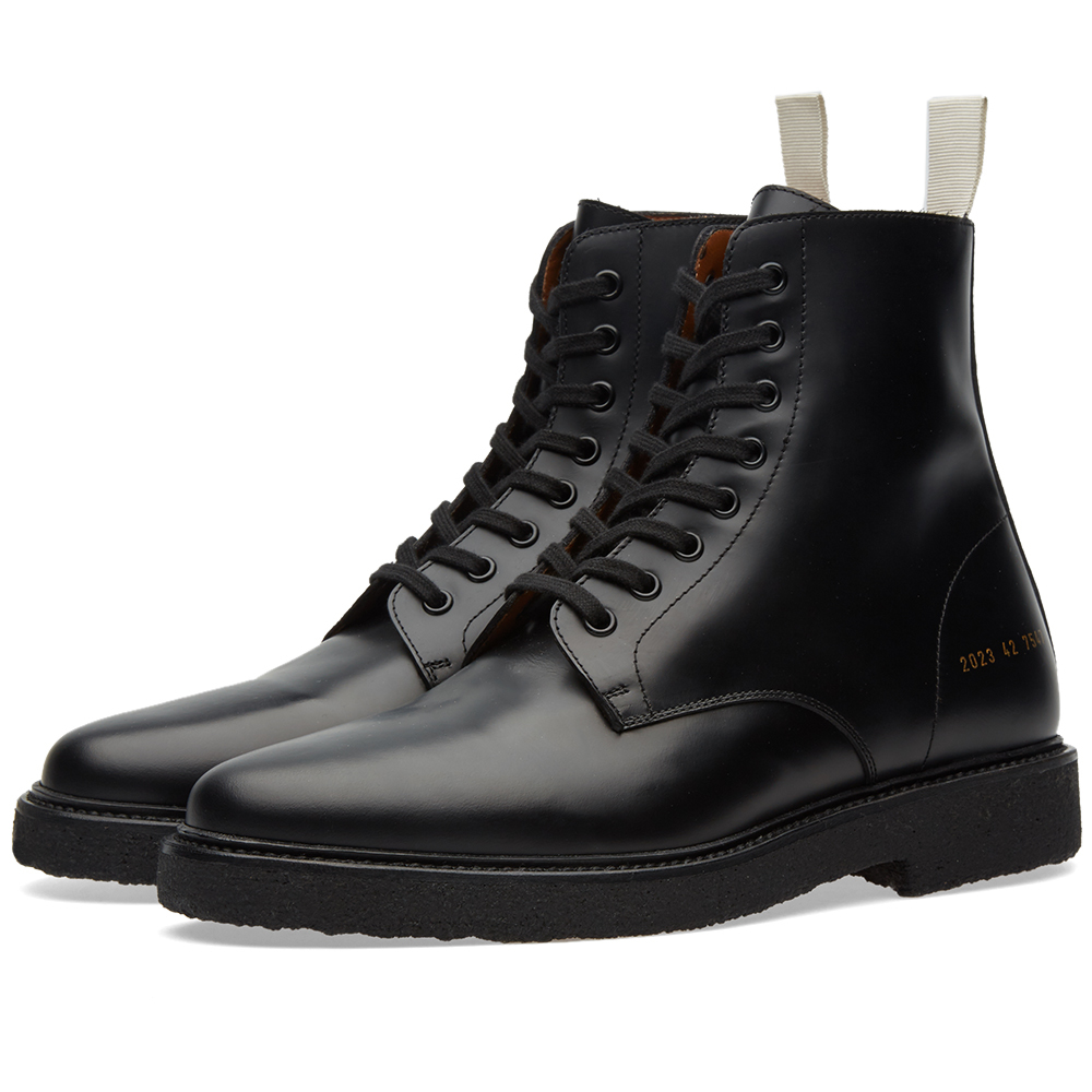 Photo: Common Projects Standard Combat Boot
