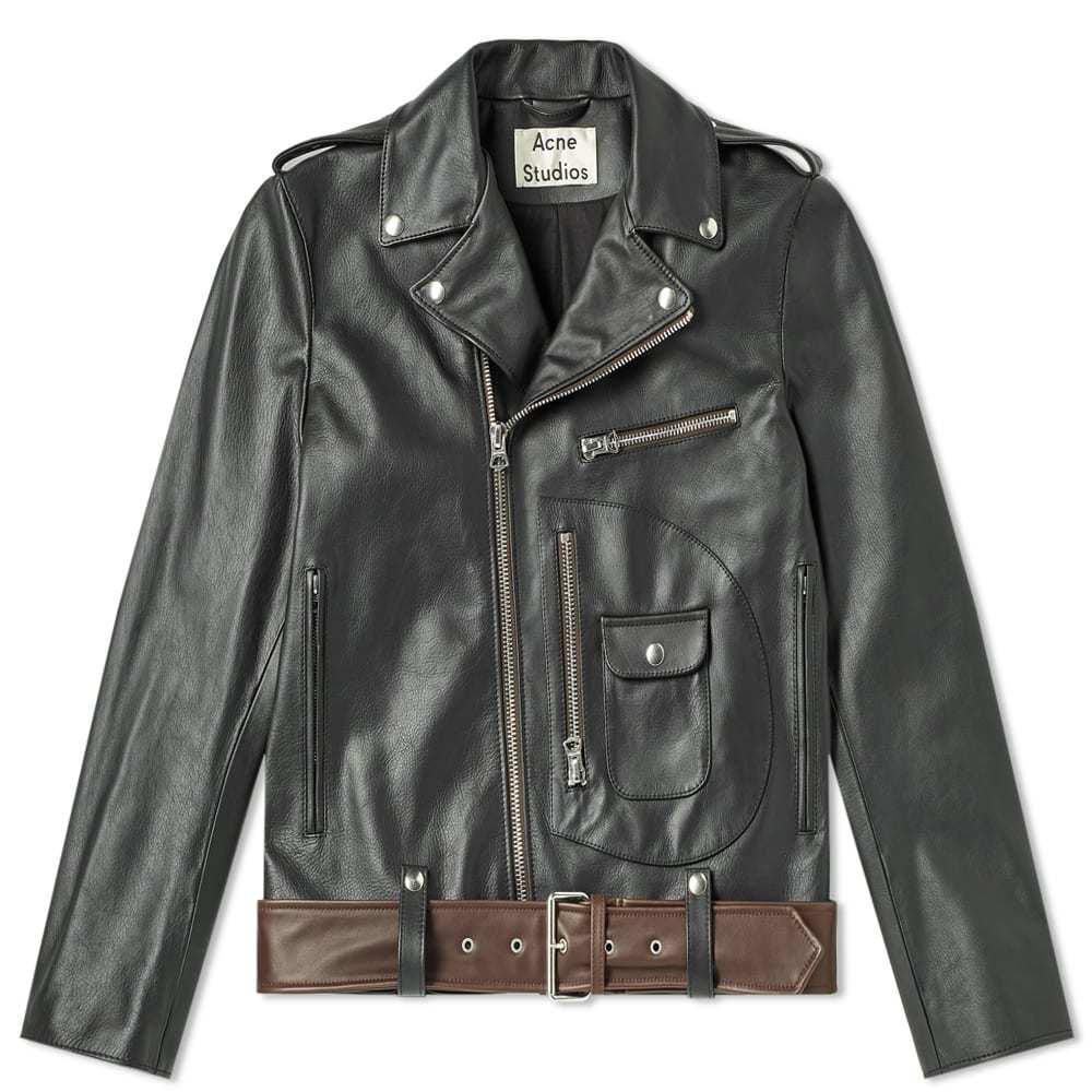 Photo: Acne Studios Ladd Washed Leather Jacket