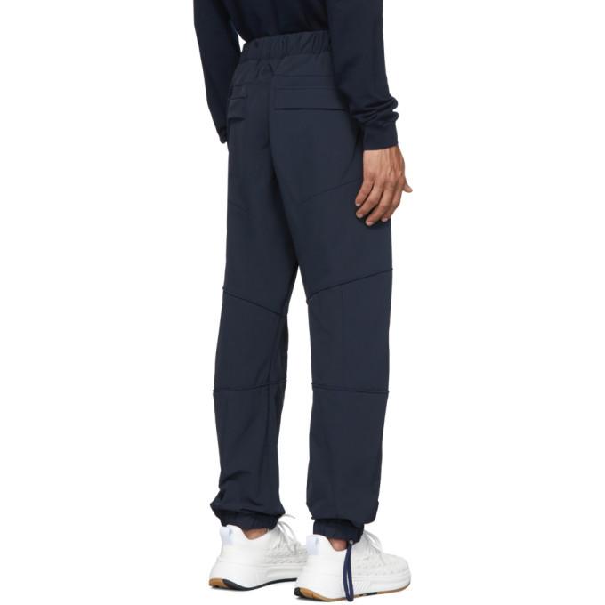 Bottega Veneta Navy Gabardine Trousers