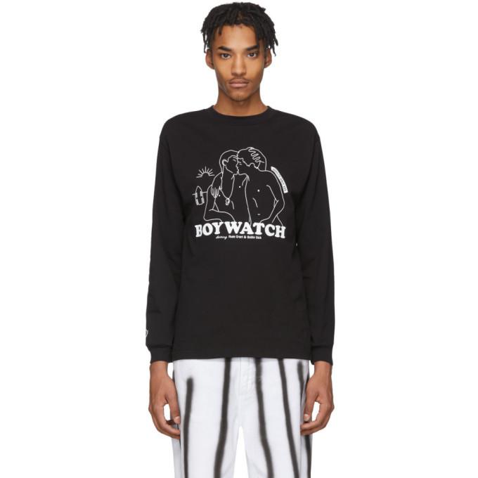 Photo: Carne Bollente Black Boy Watch Long Sleeve T-Shirt
