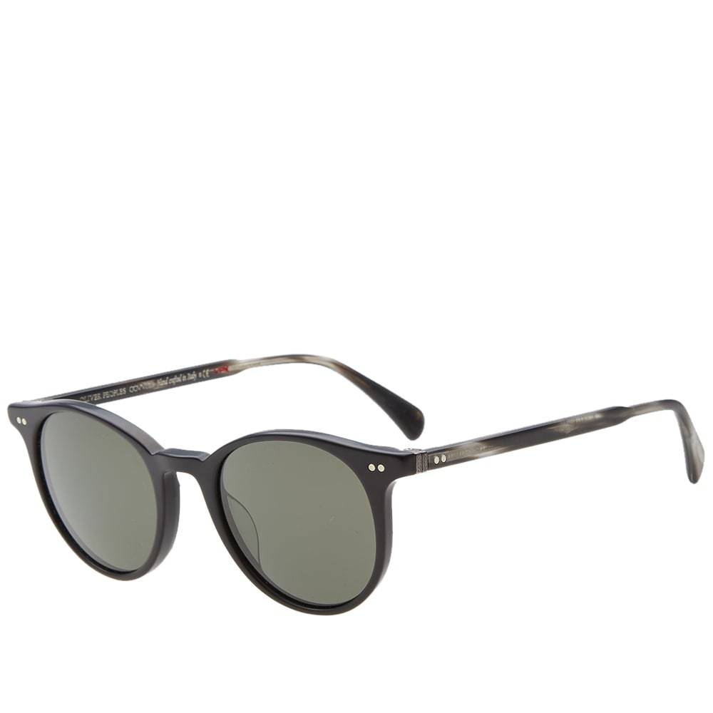 Oliver Peoples Delray Sunglasses Black