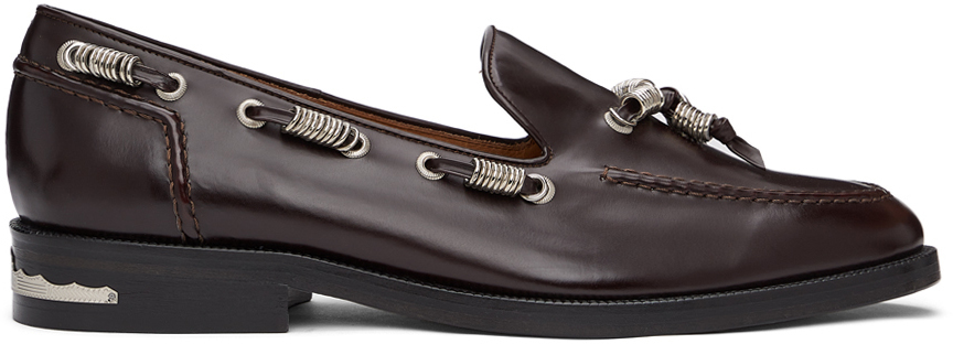 Photo: Toga Virilis Burgundy Polido Loafers