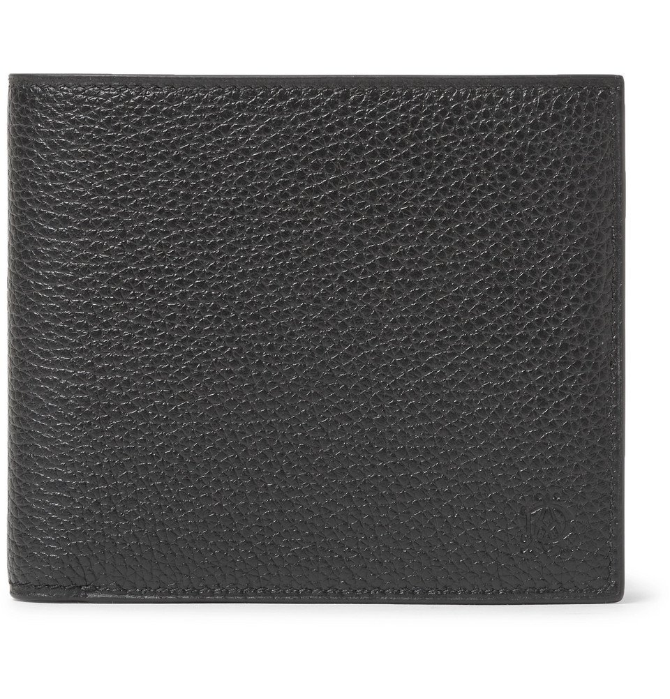 Dunhill - Boston Full-Grain Leather Billfold Wallet - Men - Black