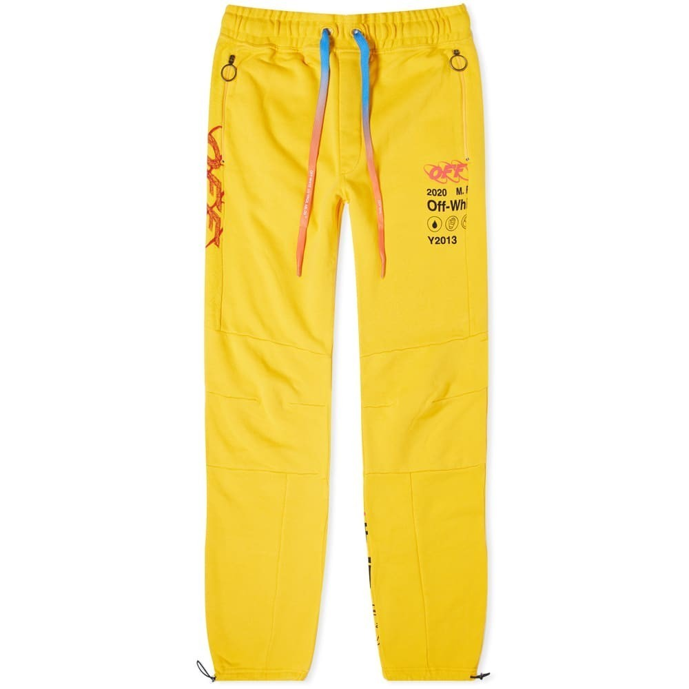 Photo: Off-White Industr Y013 Panelled Sweat Pant