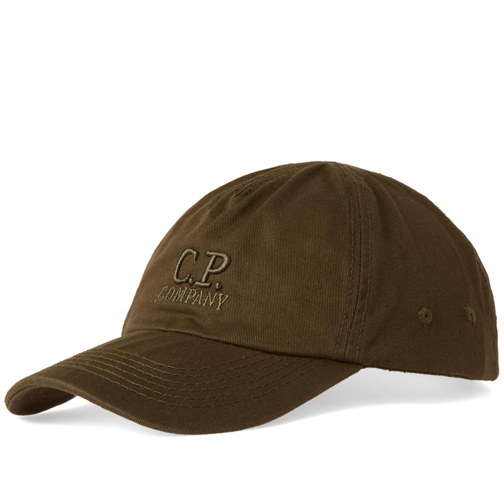 C.P. Company Logo 6 Panel Cap