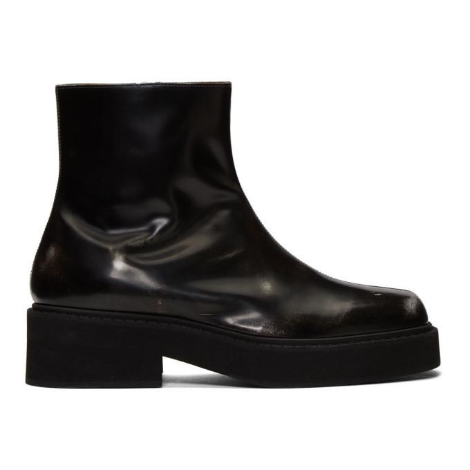 Photo: Marni Black Washed Chelsea Boots