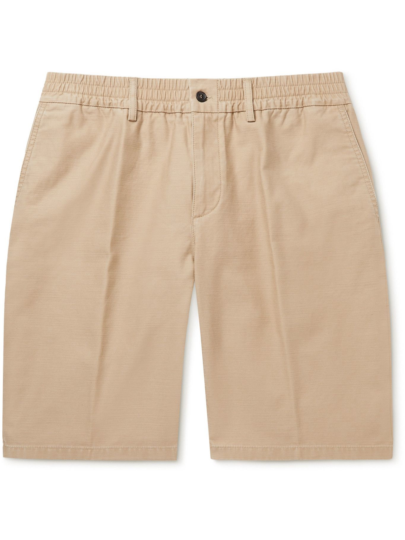 DUNHILL - Utility Washed-Cotton Shorts - Brown