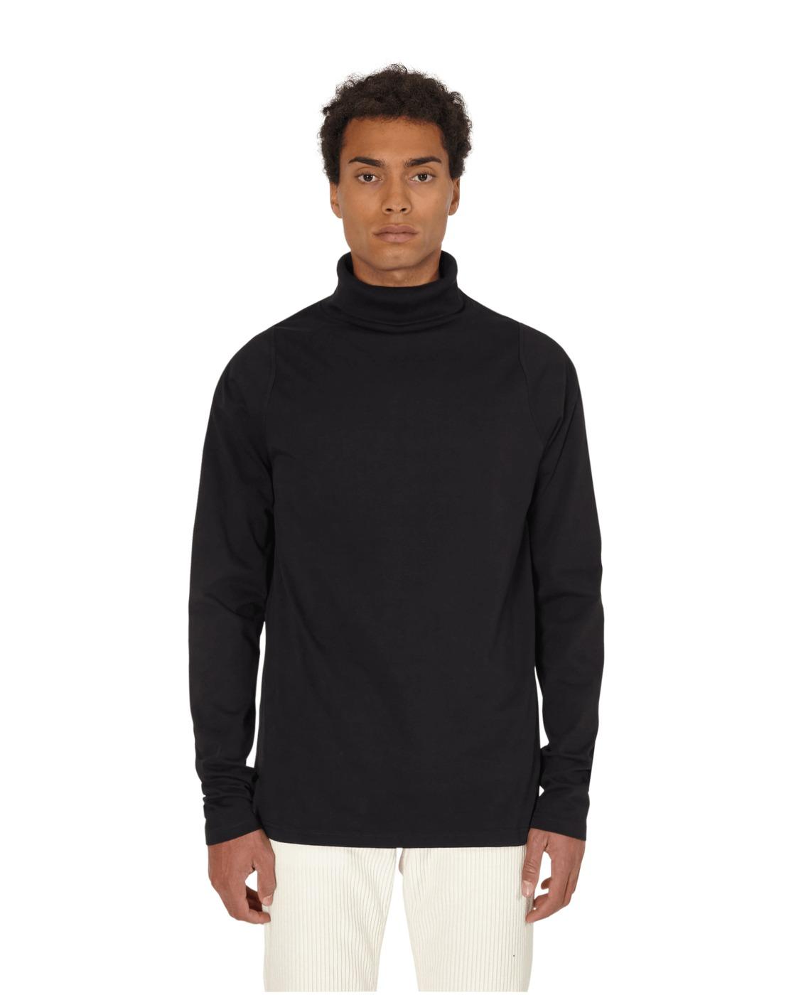 Martine Rose Perfection Turtle Neck Longsleeve T Shirt Black