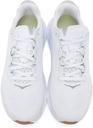 Hoka One One White & Grey Elevon 2 Sneakers
