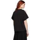 3.1 Phillip Lim Black Shoulder Slit T-Shirt