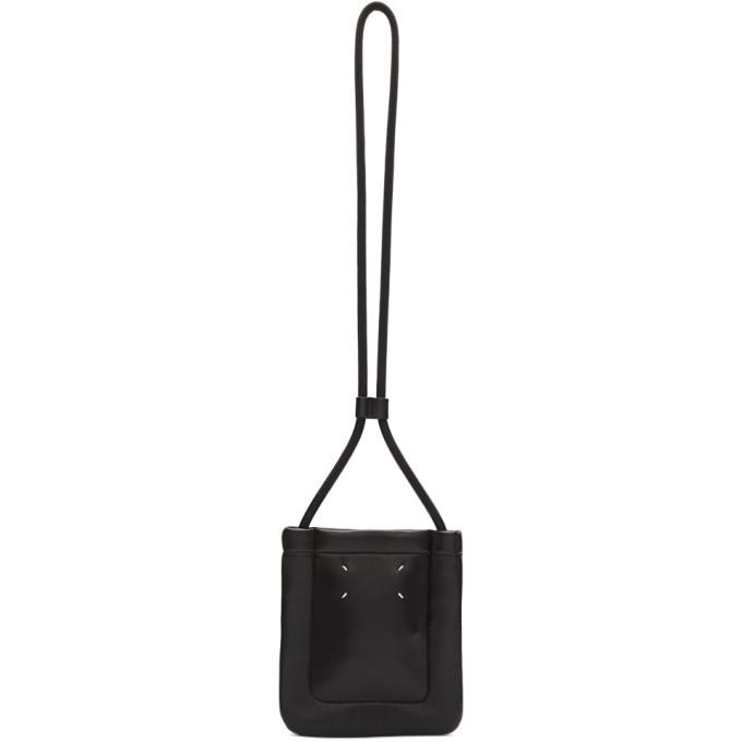 Photo: Maison Margiela Black Padded Messenger Bag