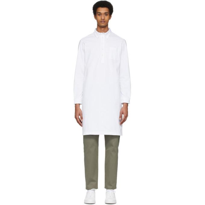 Photo: A.P.C. White RTH Edition Long Shirt