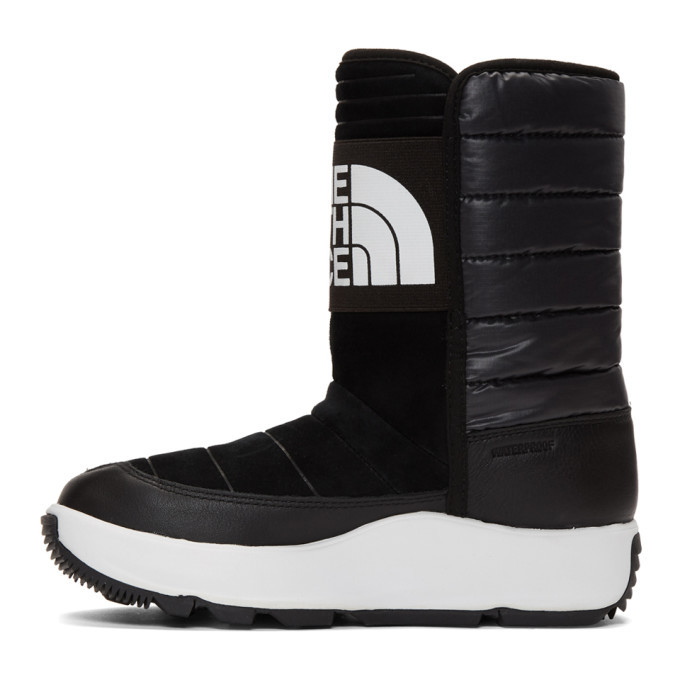 The North Face Black Ozone Park Pull On Boots The North Face