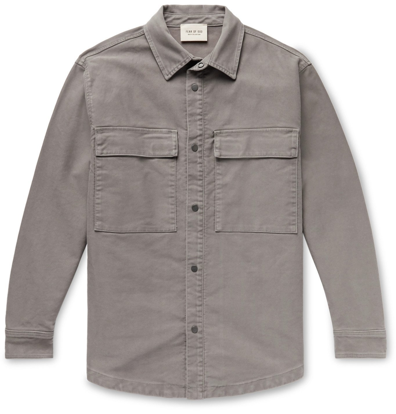 Photo: Fear of God - Cotton Overshirt - Gray