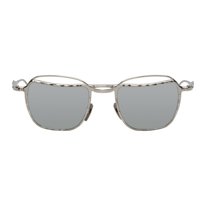 Photo: Kuboraum Silver H71 SI Sunglasses