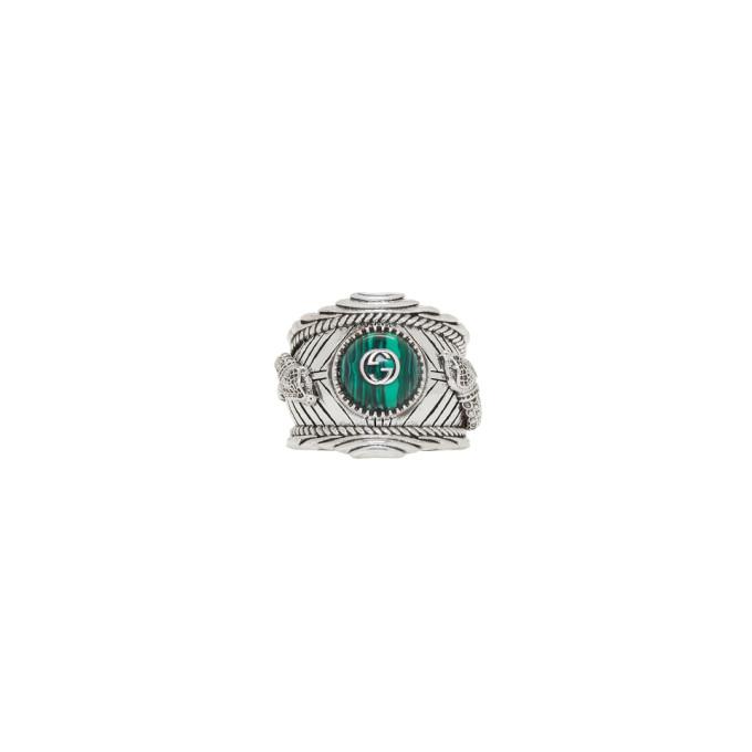 Photo: Gucci Silver Gucci Garden Ring