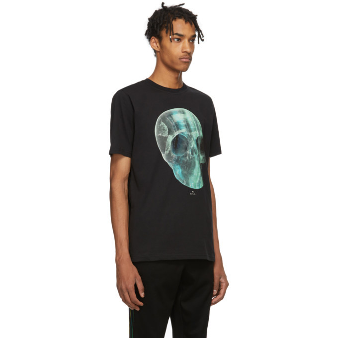 PS by Paul Smith Black Crystal Skull T-Shirt