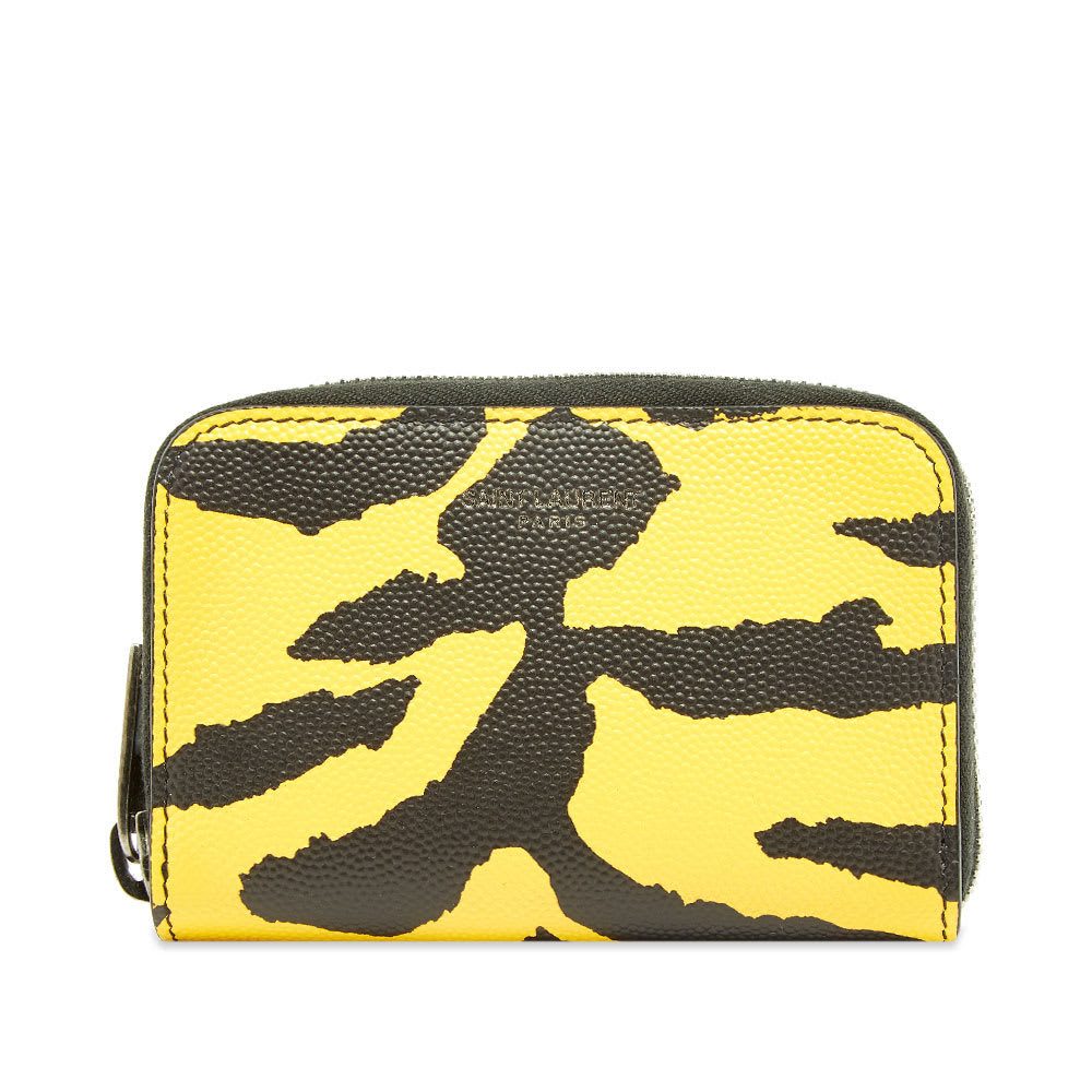 Photo: Saint Laurent Zebra Zip Coin Wallet
