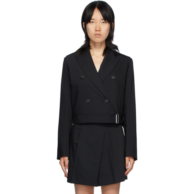 Photo: Helmut Lang Black Belted Blazer