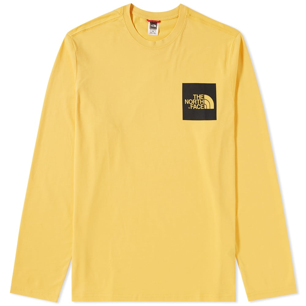 Photo: The North Face Long Sleeve Fine Tee Yellow