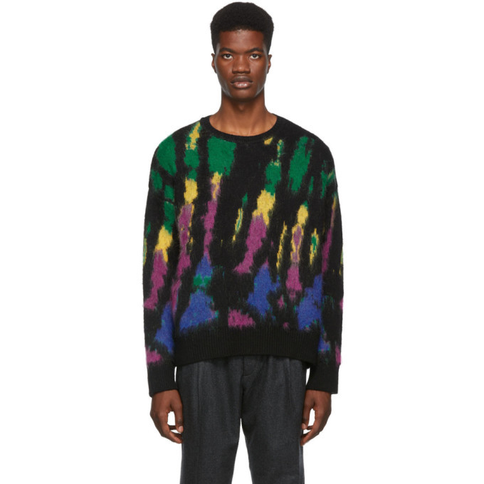 Photo: Dsquared2 Multicolor Tie-Dye Sweater