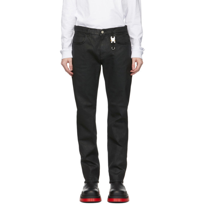 Photo: 1017 ALYX 9SM Black Six-Pocket Moonlit Jeans