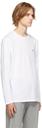 Hugo White Derol212 Long Sleeve T-Shirt