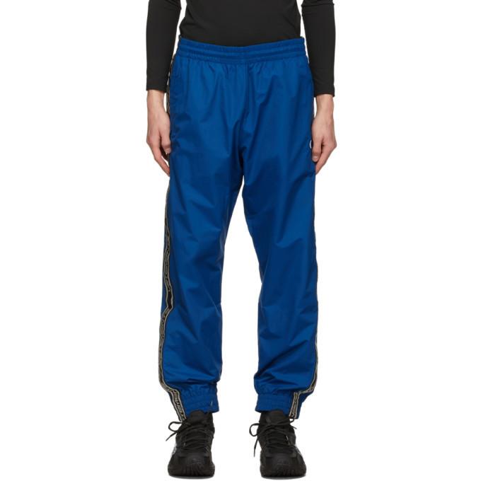 Photo: VETEMENTS Blue Logo Tape Track Pants