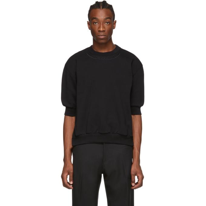 Photo: Random Identities Black Side Zip Sweatshirt