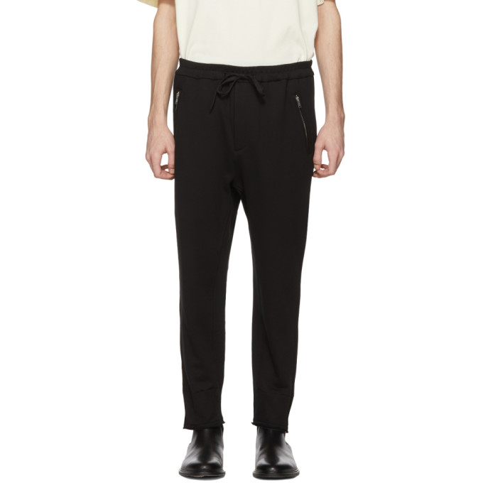 3.1 Phillip Lim Black Cropped Lounge Pants