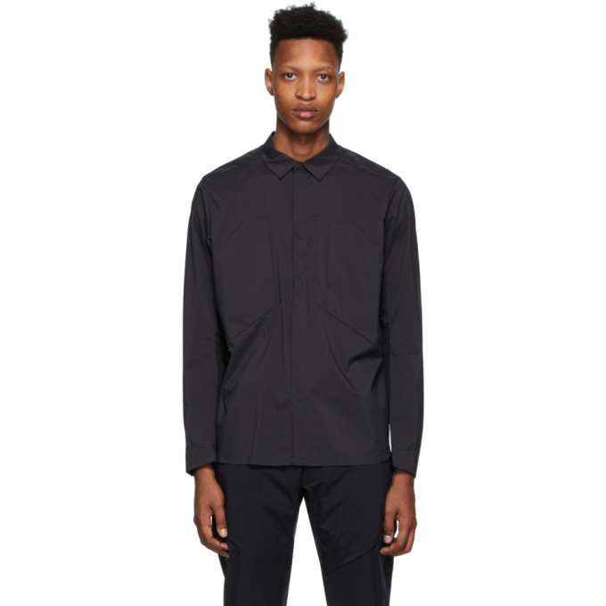 Photo: Veilance Black Demlo Over Shirt