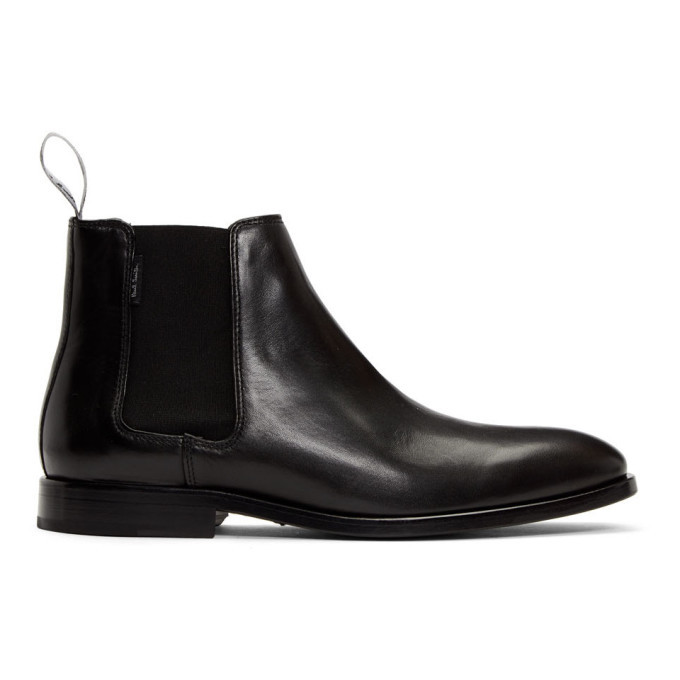 Photo: PS by Paul Smith Black Gerald Chelsea Boots