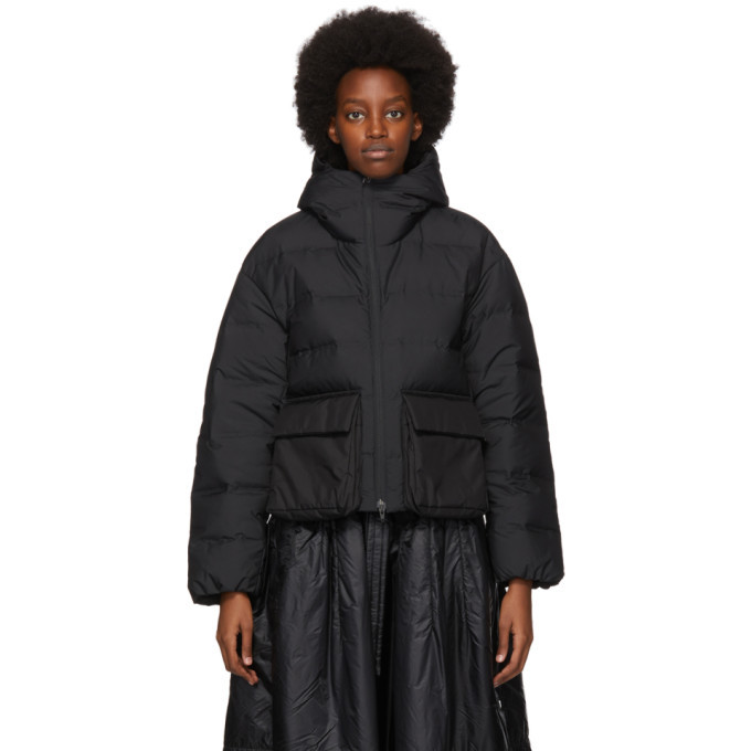 Photo: Y-3 Black Down Classic Puffer Jacket