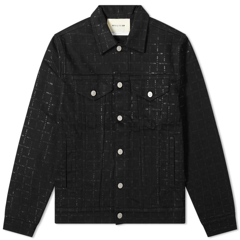 Photo: 1017 ALYX 9SM Logo Washed Denim Jacket