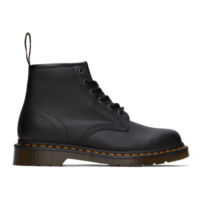 Photo: Dr. Martens Black Nappa 101 Boots