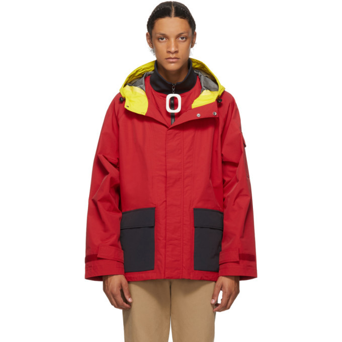 Photo: JW Anderson Red Color Hooded Jacket