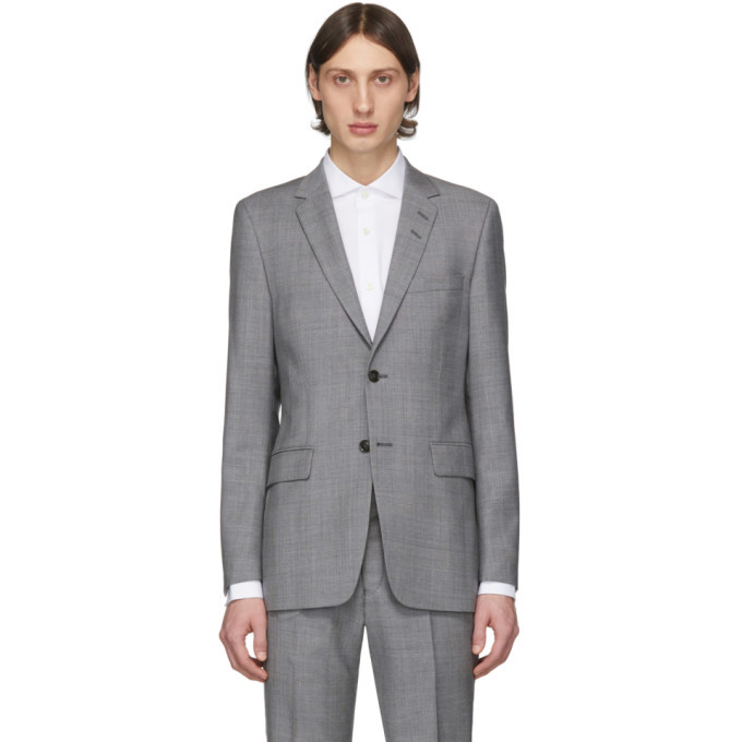 Photo: Tiger of Sweden Grey Wool Blazer