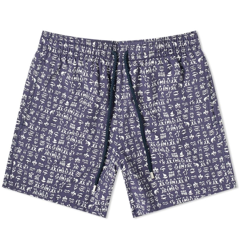 Photo: Vilebrequin Moorea Fortune Teller Turtles Swim Short