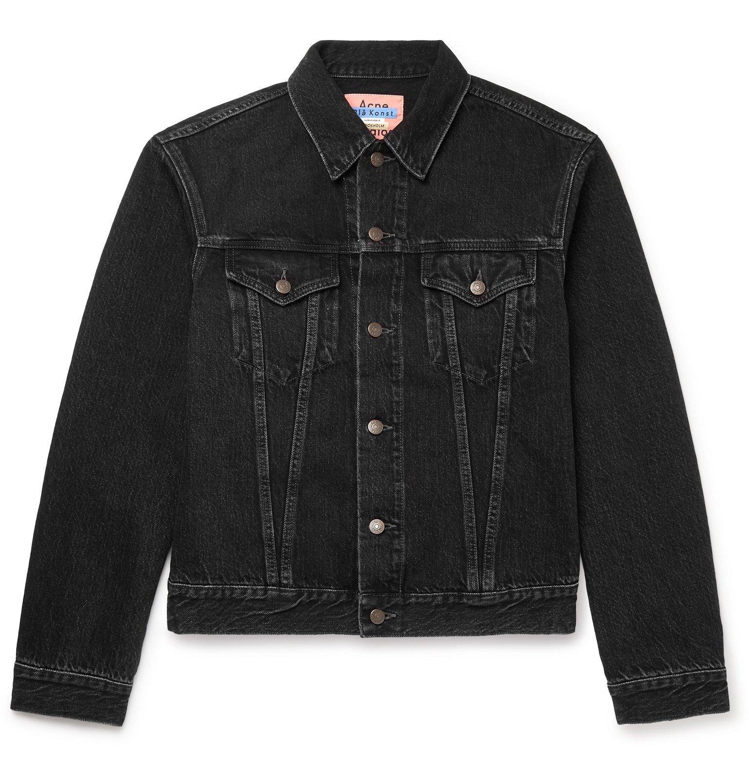 Photo: Acne Studios - Denim Trucker Jacket - Black