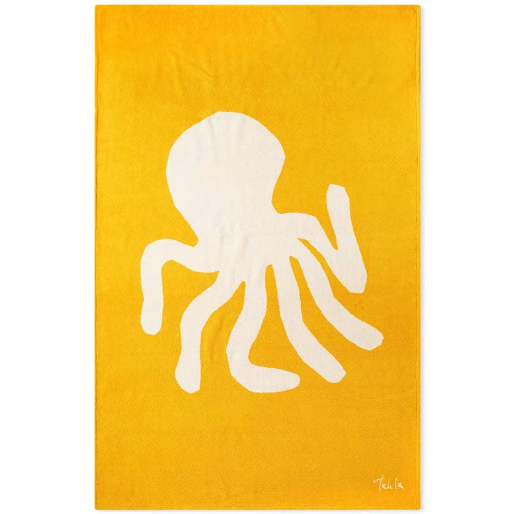 Photo: Tekla Fabrics Terry Octopus Beach Towel