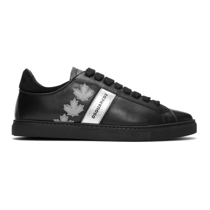 Photo: Dsquared2 Black Sport Sneakers