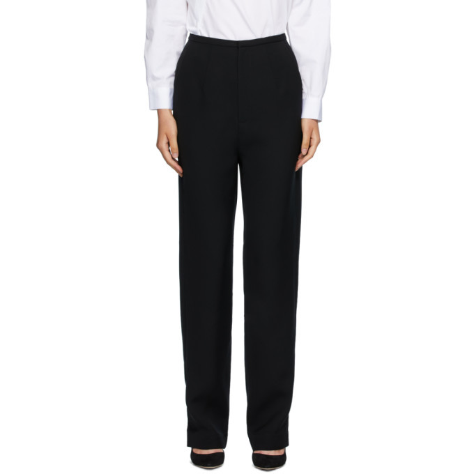 Photo: Toteme Black Arles Trousers