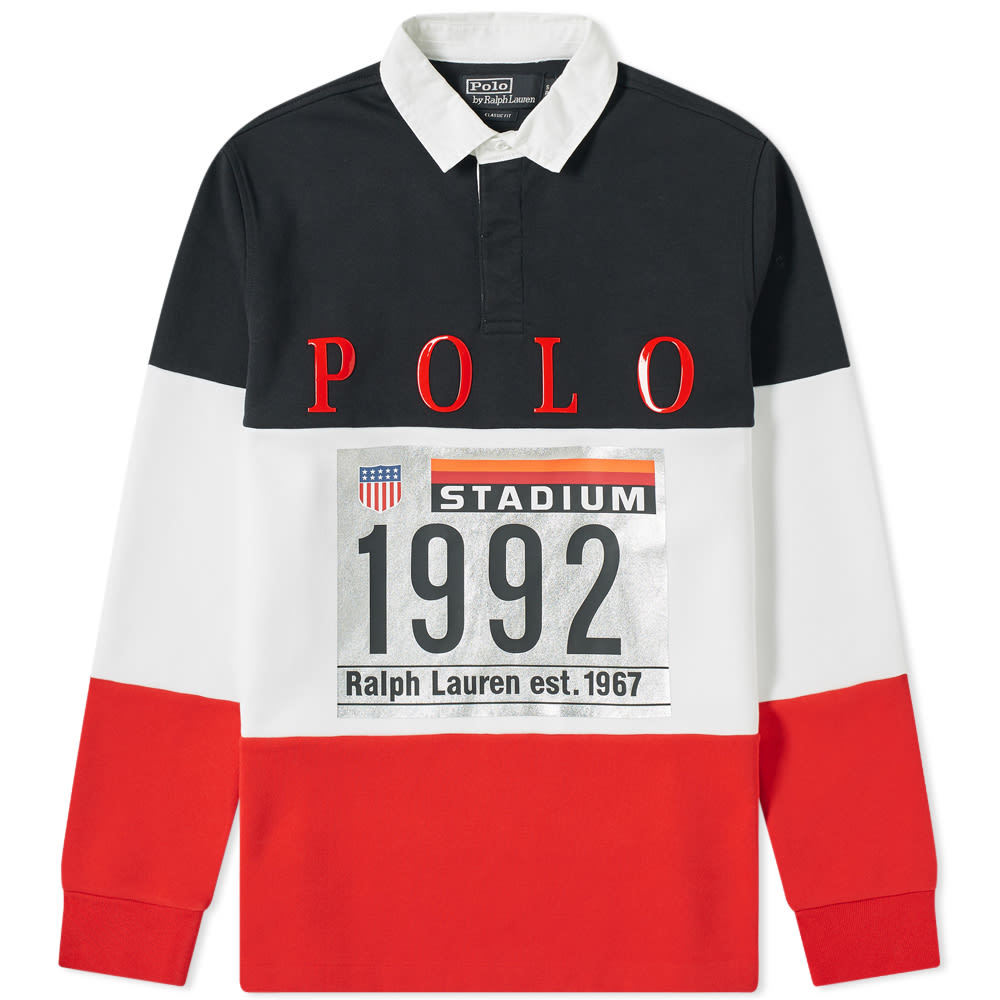 Photo: Polo Ralph Lauren Rugby Knit