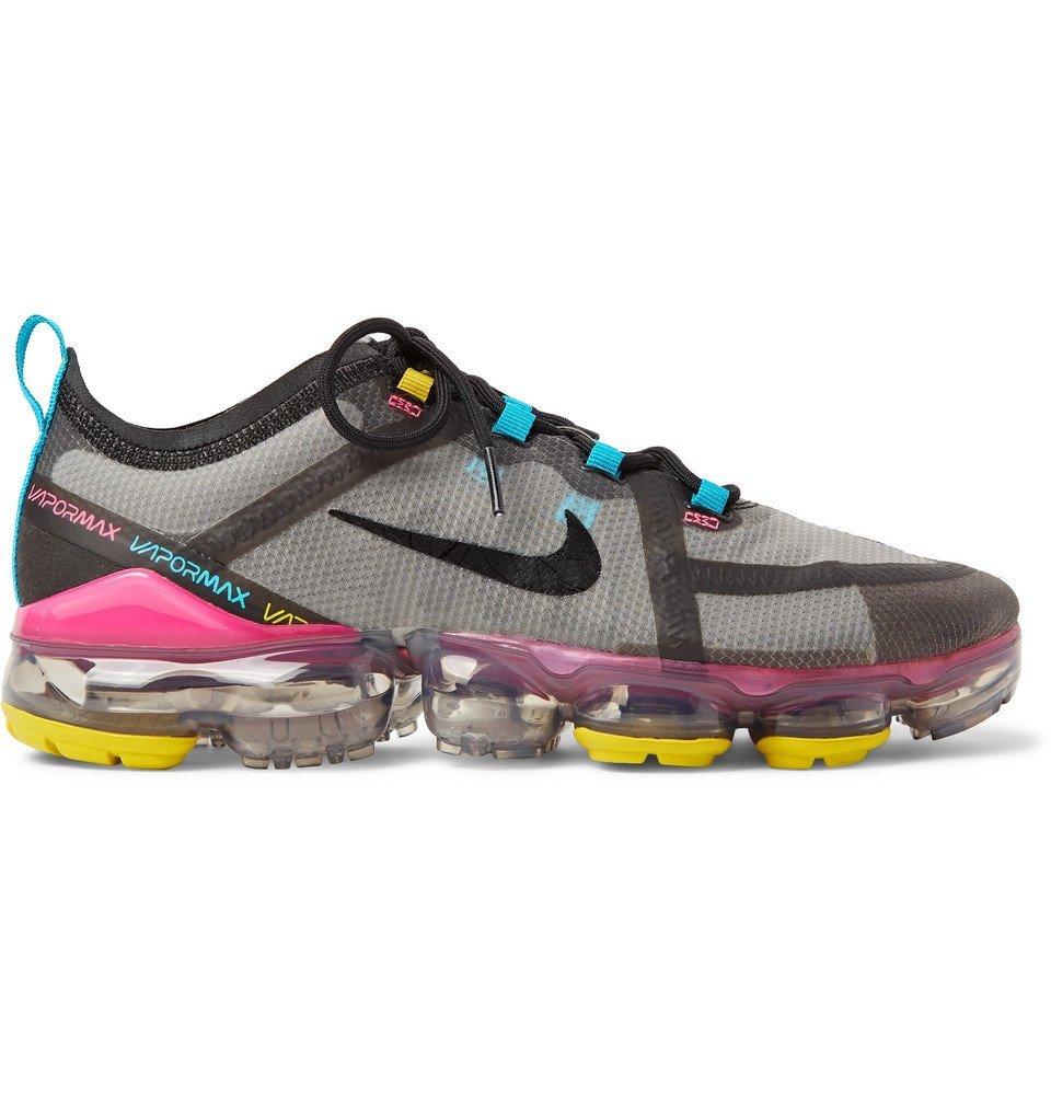 Nike Running - Air VaporMax 2019 Ripstop Running Sneakers - Gray