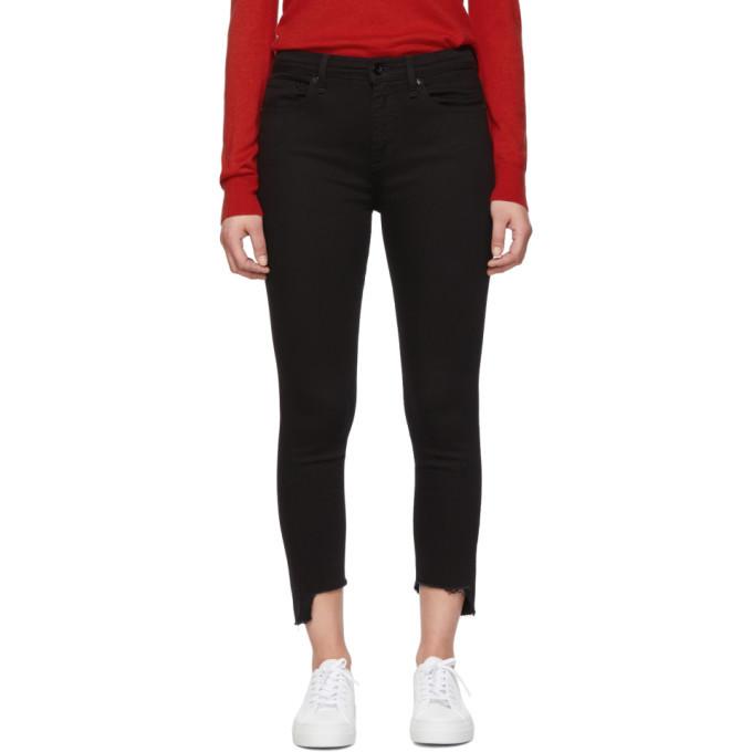 Photo: rag and bone Black Nina Ankle Skinny Jeans