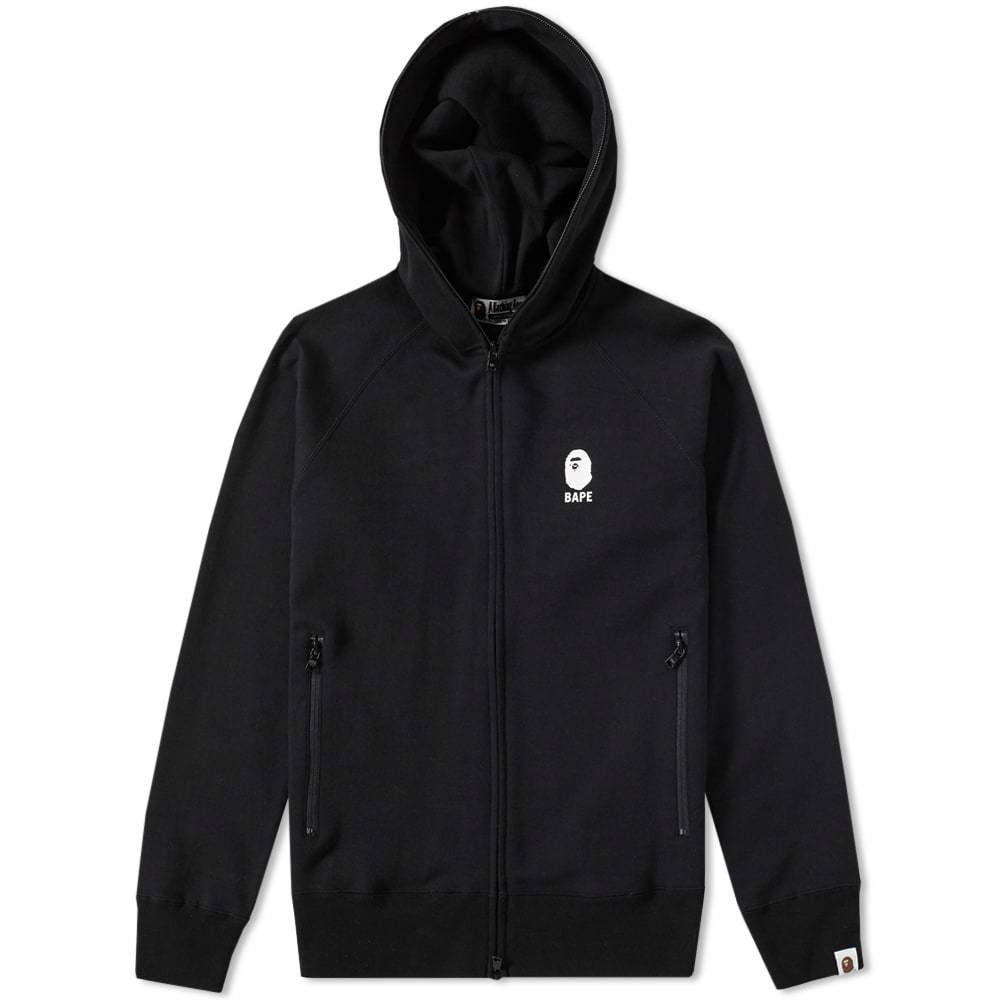 Photo: A Bathing Ape Double Knit Zip Hoody
