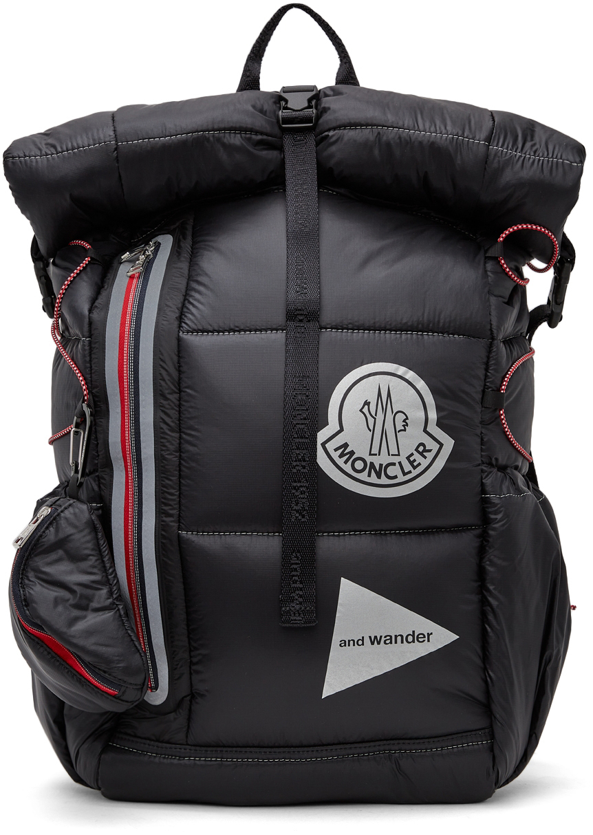 Photo: Moncler Genius 2 Moncler 1952 Black and wander Edition Backpack