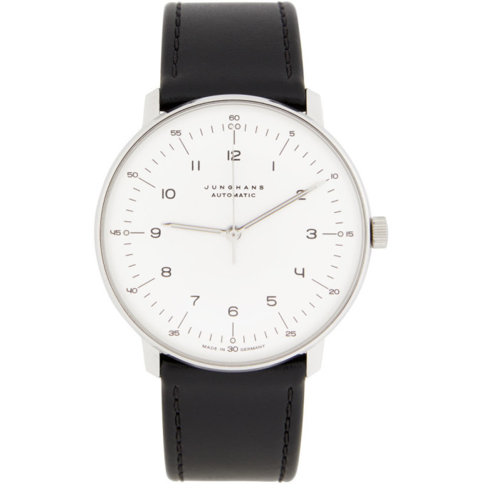 Photo: Junghans White and Black Max Bill Automatic Watch