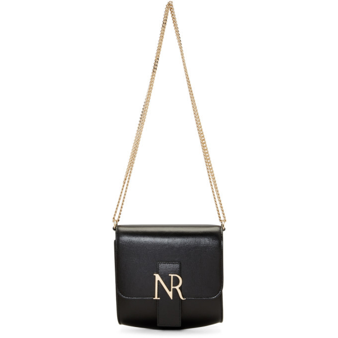 Nina Ricci Black MM Small Shoulder Bag