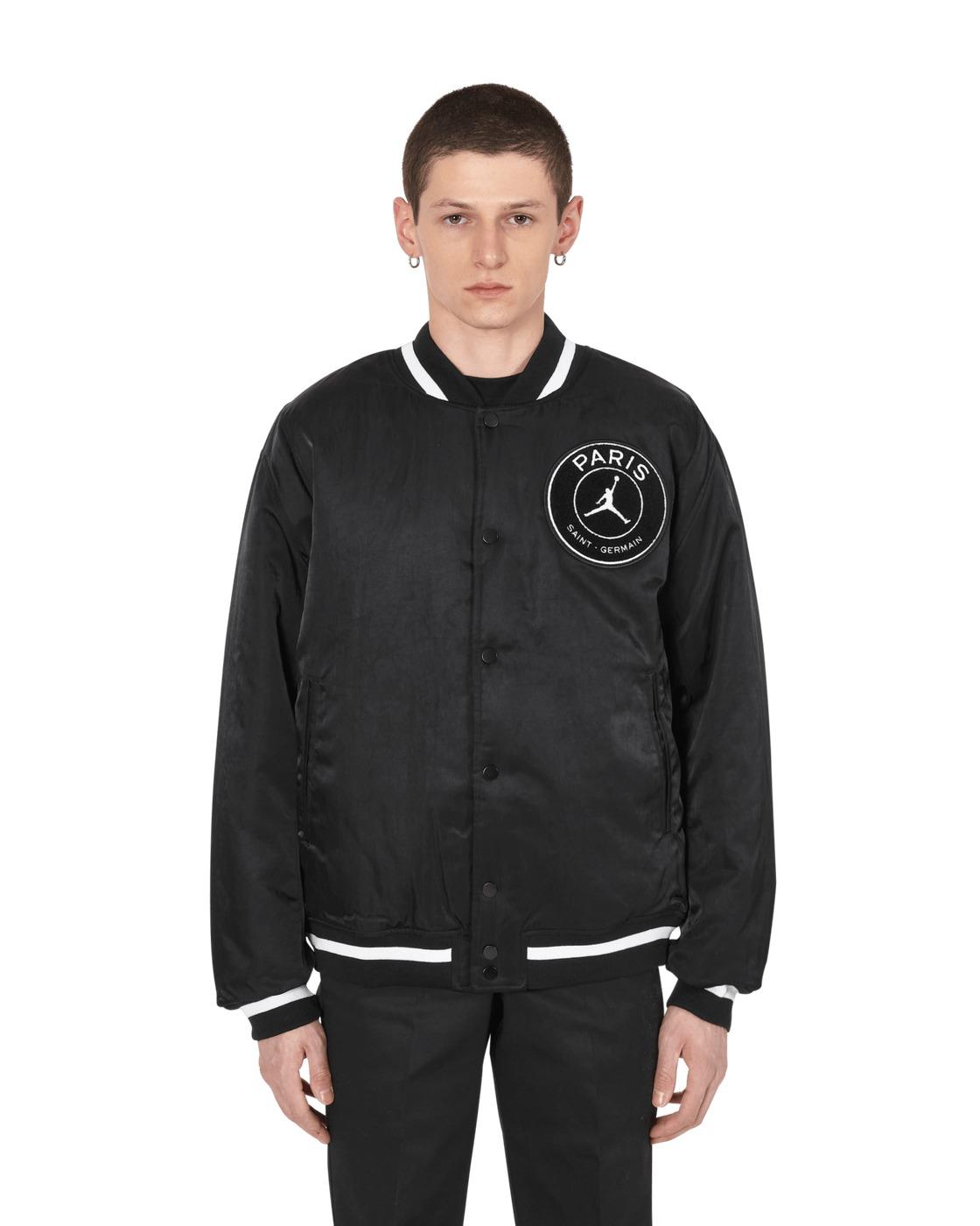 Nike Jordan Paris Saint Germain Varsity Jacket Black/Bordeaux